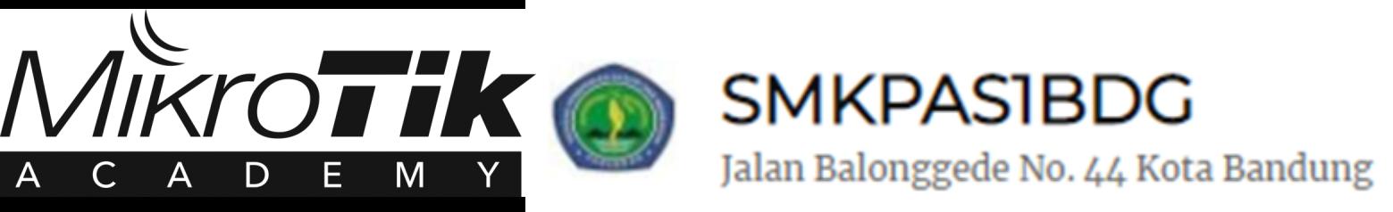 Mikrotik SMK Pasundan 1 Bandung